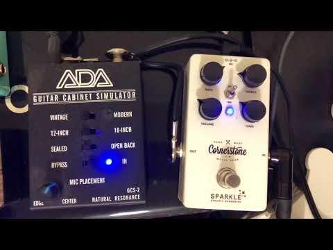 ADA-GCS-3 Amp Simulator with Cornerstone Sparkle Drive