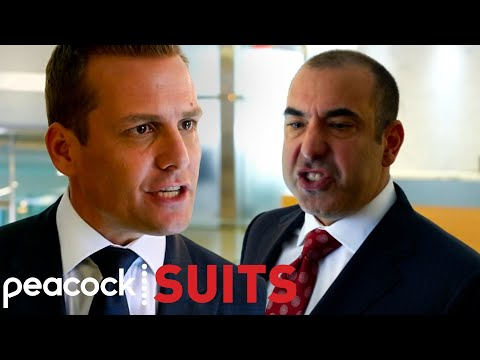 Louis Goes After Harvey And Manages To Steal Versalife As A Client | Suits