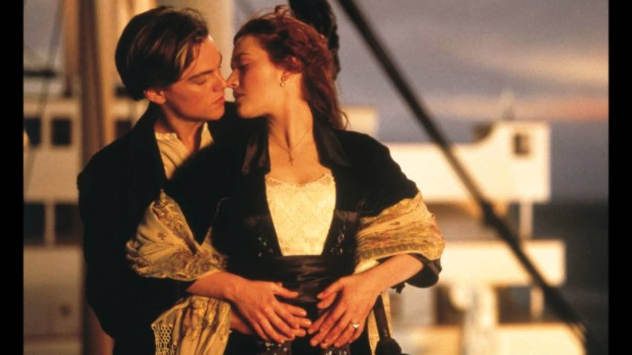 Titanic- The Dream (Final scene music) + My heart will go on - YouTube
