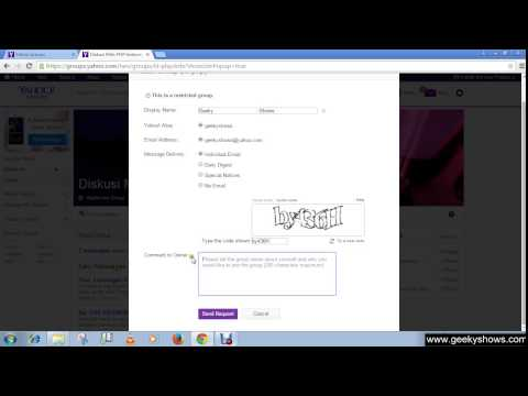 How to Join Yahoo Group