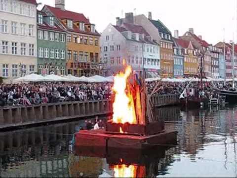 Sankt Hans aften - Nyhavn, Copenhagen