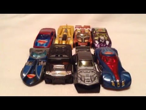 Hot Wheels 2016 Batman V Superman: Dawn Of Justice Set! Including The Chase! (Walmart Exclusive)