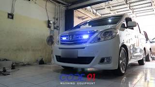 Toyota Alphard w/ Feniex Fusion 180 (2) & Feniex Fusion 40 (2) - By. Code.91