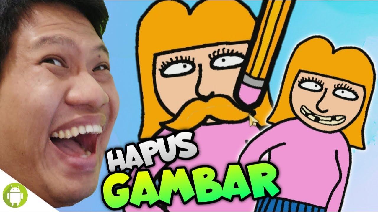 YUK BANTU HAPUSIN GAMBAR YANG GAK PENTING!!! Just Eraser [SUB INDO] ~Gambar Kocak!