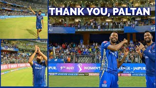 A Last Lap Of Honour at the Wankhede in IPL 2019 | Mumbai Indians