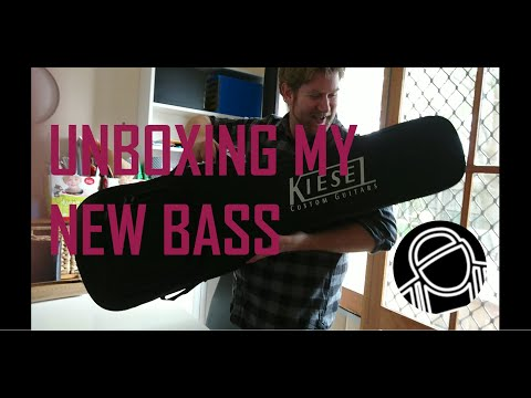 Unboxing My New Bass | BrynLS Ent