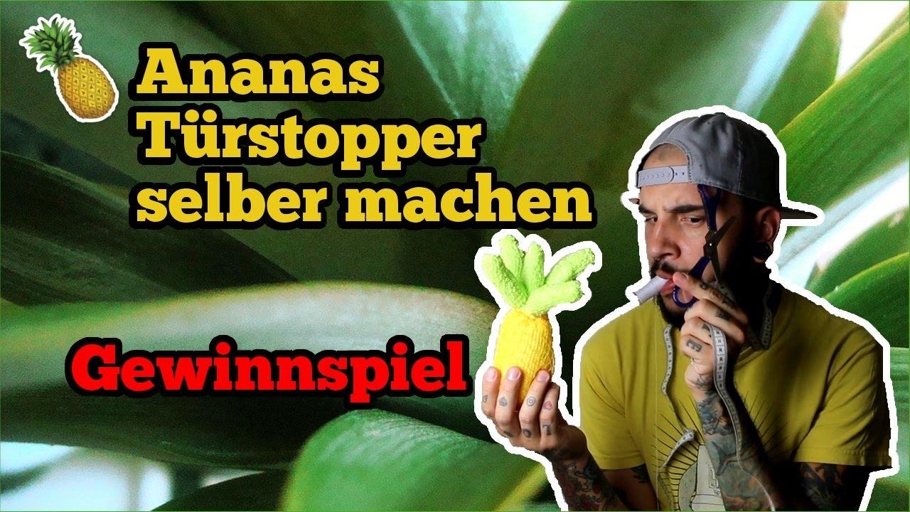ananas türstopper selber machen | lifehack & diy | ash april | 1000