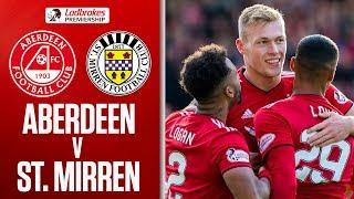 Aberdeen 4-1 St. Mirren | Cosgrove scores twice in St. Mirren thrashing |  Ladbrokes Premiership