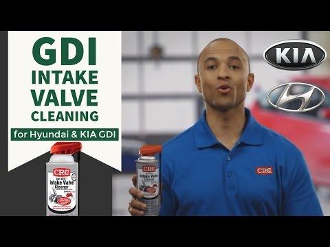 Intake Valve Cleaning Hyundai & KIA CRC GDI IVD® Intake Valve & Turbo Cleaner