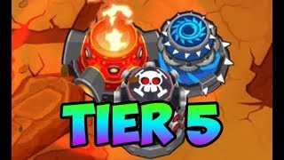 Bloons TD 6 - ALL 5TH TIER TACK SHOOTERS!