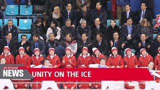 Unified Korean hockey team lose first match, but crowds enthusiastic