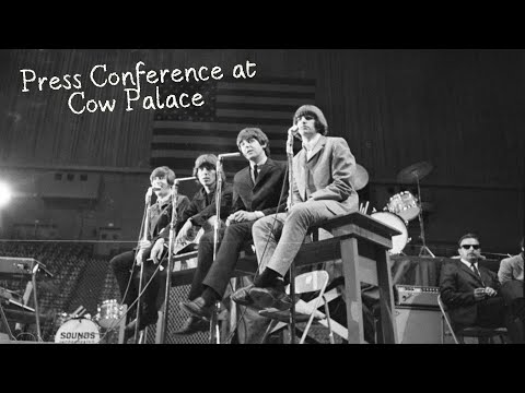 San Francisco 1965 Interview  The Beatles EngSpa Subtitles