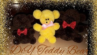 How to Make Teddy Bear with Yarn | DIY Teddy bear | Giift Idea