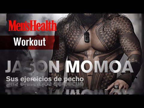 Entrenamiento de pecho de Jason Momoa | Men's Health España