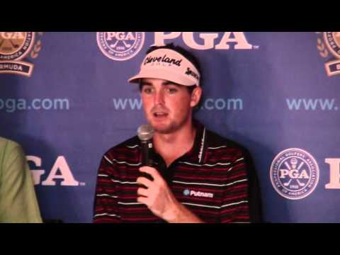 Keegan Bradley PGA Grand Slam Bermuda October 18 2011