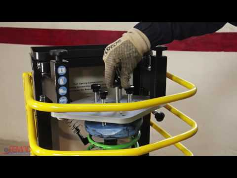 Simply 2 Air Operated Coil Spring Compressor Instructional Video