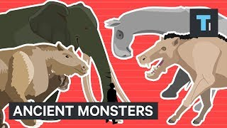 These are the enormous creatures that today's animals descended from