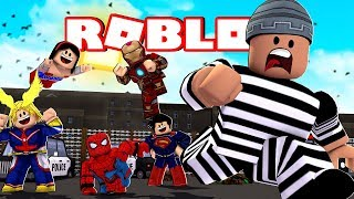 ESCAPING FROM PRISON and EARNING EASY MONEY-Madcity Roblox