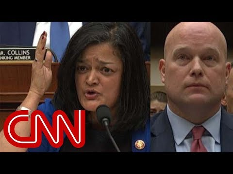 See lawmaker's impassioned plea to Matt Whitaker