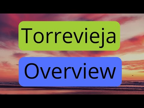 Torrevieja Overview Of Area.
