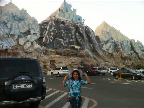 THROW BACK  ICELAND AMUSEMENT PARK AT RAS AL KHAIMAH UAE