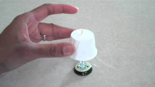 How To Make A Dollhouse Lamp