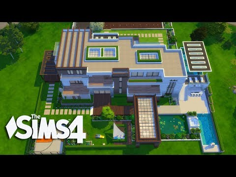 The Sims 4 - Let's Build a Modern Mansion (Part 6 ) Realtime