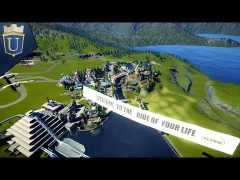 Aztec Restaurant Part 1 | Planet Coaster | Alpine Odyssey | Part 27