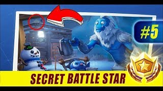 Secret Battle Star Week 5 Season 7 (Fortnite Battle Royal Season 7)