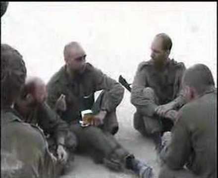 11.08.2006 Израильские солдалы в Ливане