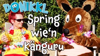 ♫ Kinderlied ♫ Spring wie'n Känguru ♫ DONIKKL Kinderlieder ♫ Singen, Tanzen, Bewegen