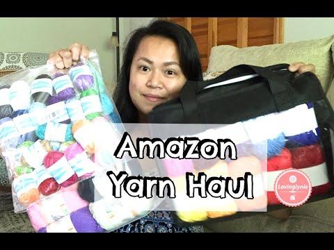 Amazon Yarn Haul