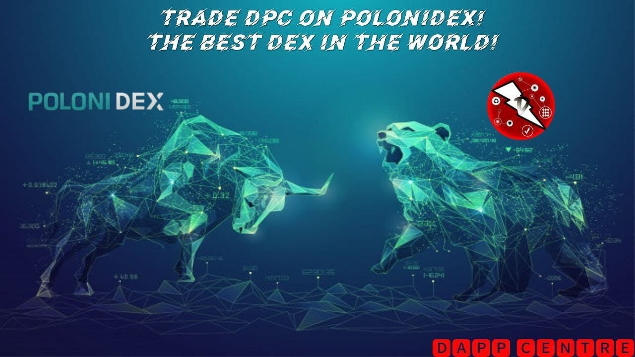 DPC CAN NOW BE TRADED ON POLONIDEX! THE LARGEST DEX!