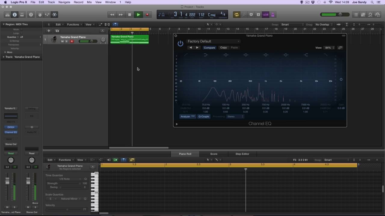 logic pro x how to use channel eq  logic pro x diagram #9