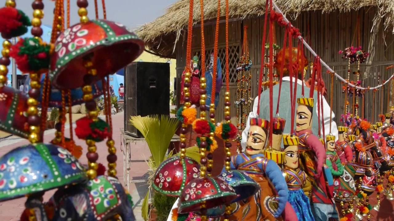 Garvi Gurjari 2014: National Craft Fair, Ahmedabad (India) - YouTube