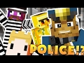 YOUTUBER POLICE STATION HIDE AND SEEK MOD - Minecraft Mod (FUNNY MOMENTS)