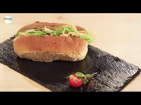 Chicken Mayo Roll | Healthy Recipes with Sanjeev Kapoor | Sanjeev Kapoor Khazana