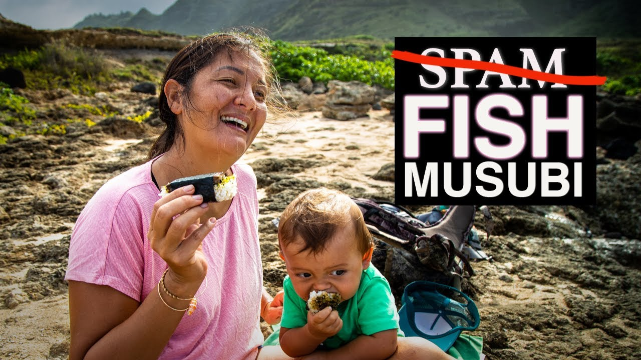 FISH MUSUBI - SPAM replacement! Hawaii - Kimi Werner Recipe - Snack Food for Adventure