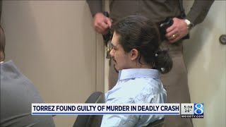 Jury: Teen driver who crashed, killing 2, guilty of murder