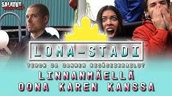 Linnanmäellä Oona Karen kanssa   Loma-Stadi  Salatut elämät