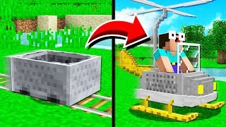 HOW TO UPGRADE MINECARTS IN MINECRAFT!