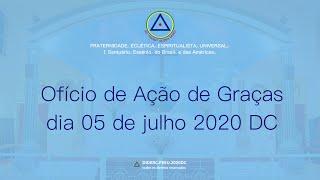 Ofício de Ação de Graças do dia 5 de julho de 2020 D.C.