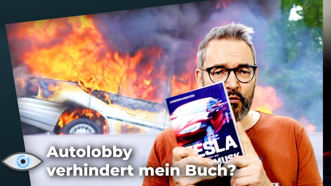Die Autolobby wollte mein Buch über Tesla verhindern! - Mein wichtigstes Video des Jahres!