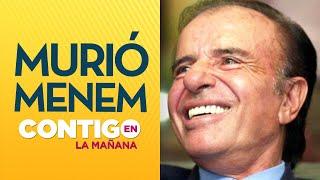 DUELO EN ARGENTINA: Presidente CARLOS MENEM murió a los 90 años