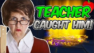 Scammer Gets Scammed In Class!!! *Teacher Caught Him* Fortnite Save The World Pve - EazyDrop