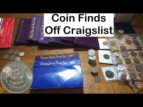 Coin Purchases from Craigslist Ads