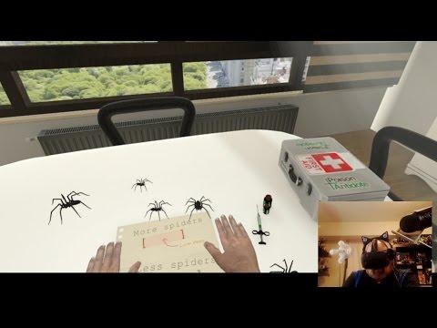 Kotaku Plays Arachnophobia, A Virtual Reality Spider Infestation