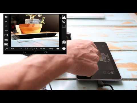 DSLR Controller App - Wifi & Saving Images