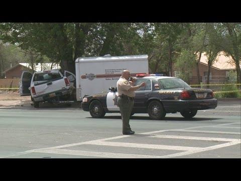 Driver dead in Alameda Blvd. crash
