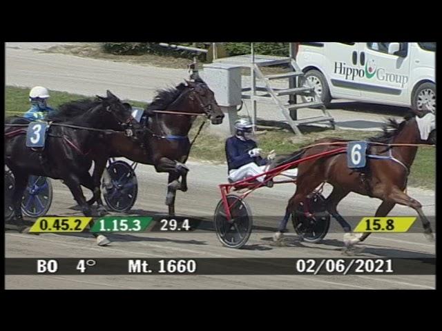 2021 06 02   Corsa 4   Metri 1660   Premio Equos